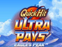 Quick Hit Ultra Pays Eagle's Peak logo