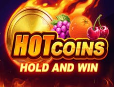 Hot Coins Hold and Win logo