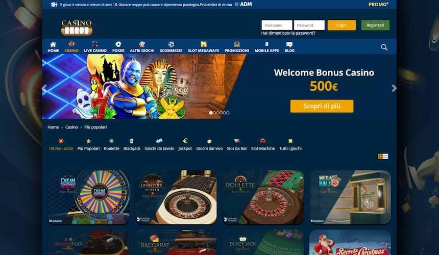 Slot machines su Casinomania