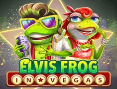 Elvis Frog in Vegas logo