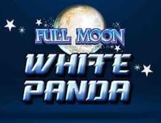 Full Moon White Panda logo
