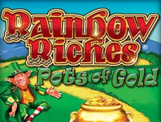 Rainbow Riches Pots of Gold logo