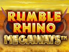 Rumble Rhino Megaways logo