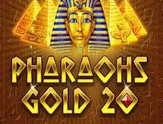 Pharaohs Gold 20 logo