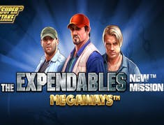 The Expendables New Mission Megaways logo